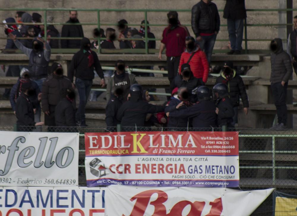 CALCIO: Acri – Castrovillari, partita vietata ai tifosi ospiti