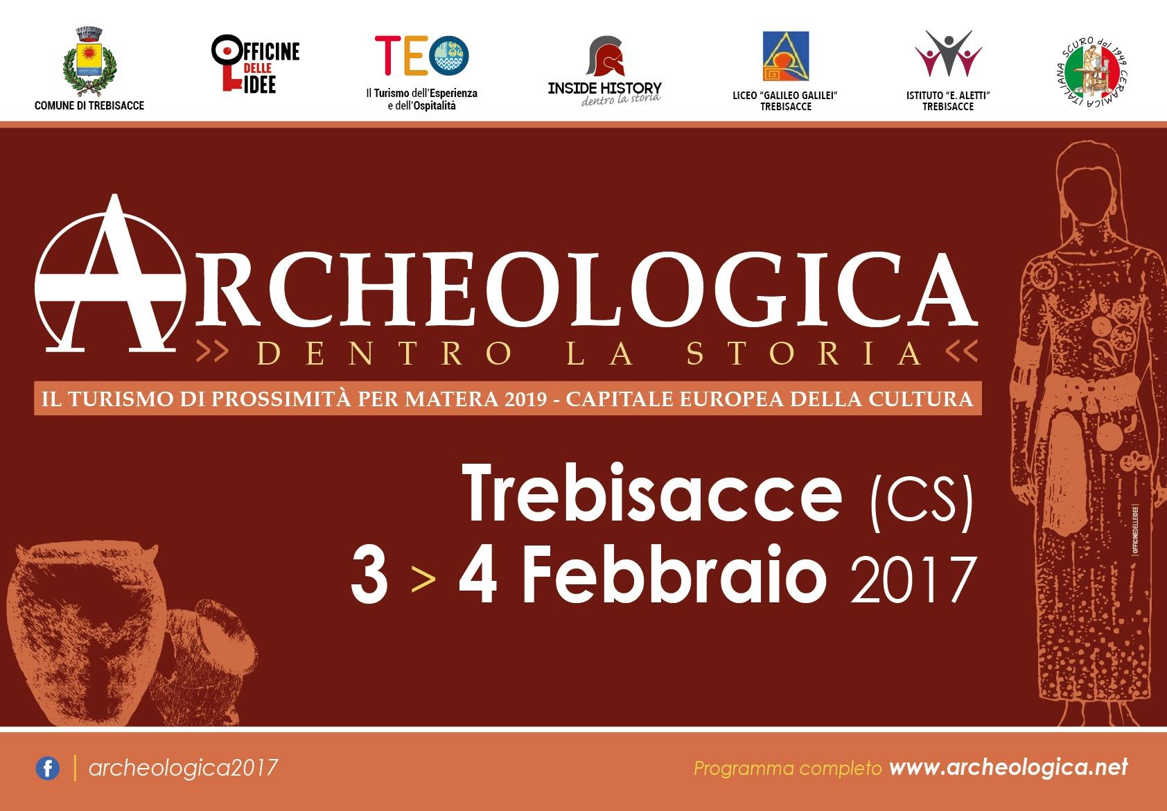 ACRI E DINTORNI: Venerdì 3 e sabato 4 febbraio a Trebisacce un viaggio tra archeologia, cibo e cultura.