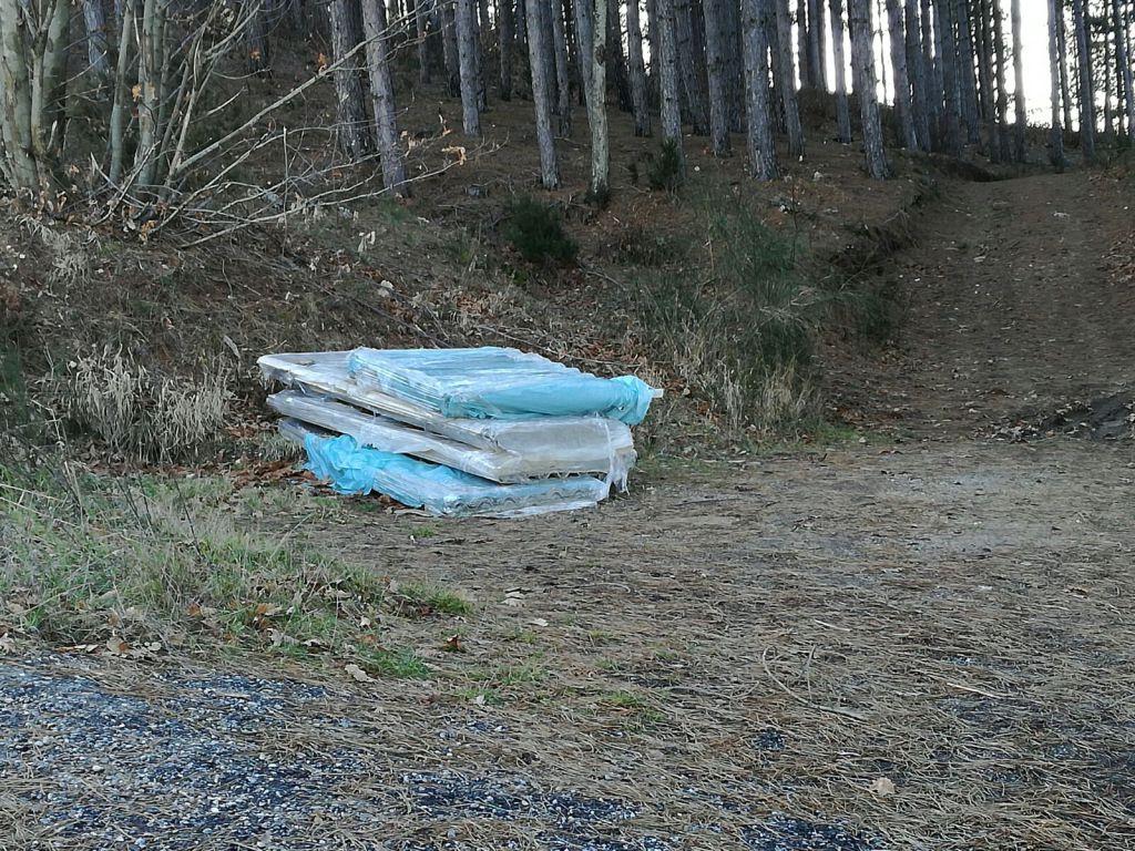 ACRI : Ancora amianto nei boschi della Crista