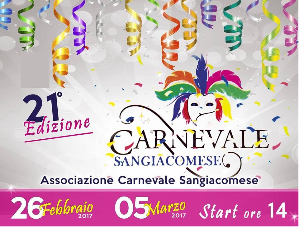 Tutto pronto per la XXI edizione del carnevale Sangiacomese