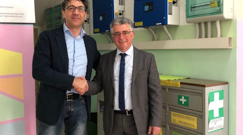 Acri: Entra in funzione l'impianto fotovoltaico della scuola di San Giacomo