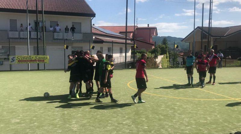 CALCIO A 5: Serralonga-Pertina promosso in serie C