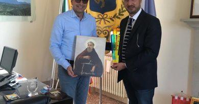 IL consigliere Luca Siciliano incontra il sindaco di Bardolino