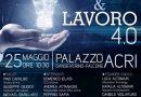 Lavoro e Innovazione, workshop d'eccellenza il prossimo 25 maggio ad Acri